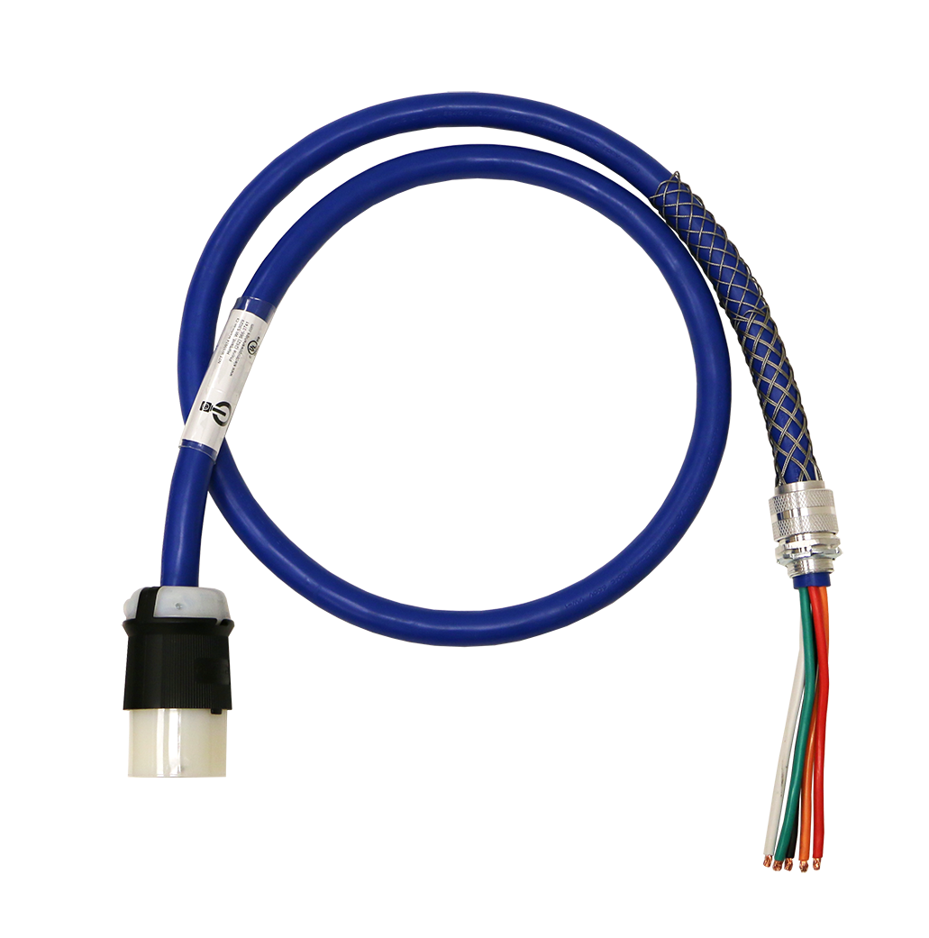 SOOW power cord connectors for data centers